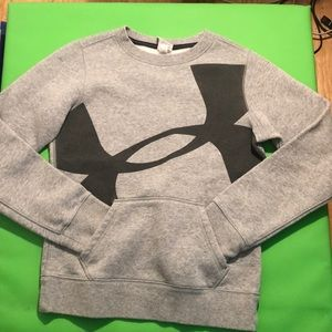 Girls medium sized Under Armour pullover.